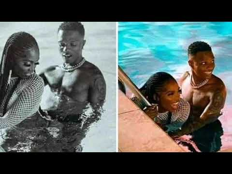 Wizkid And Tiwa Savage Really Having Sxx In The Pool???