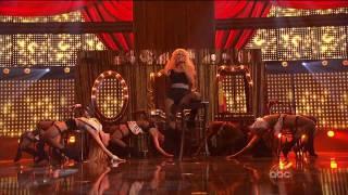 HD Christina Aguilera - Express( Burlesque)  AMA 2010 HD