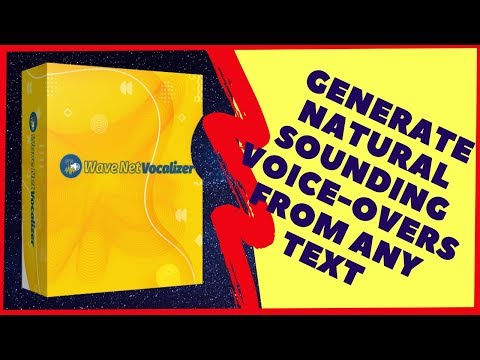 GENERATE NATURAL SOUNDING VOICE-OVERS FROM ANY TEXT