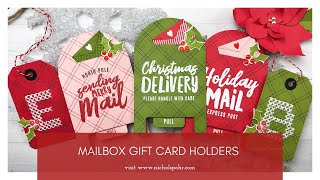 Mailbox Gift Card Holders Showcase (The Stamp Market)