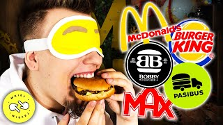 Rozpoznaj Burgera Na Ślepo Challenge