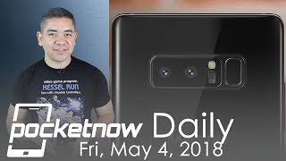 Samsung Galaxy Note 9 fingerprint patents, OnePlus 6 leaks & more - Pocketnow Daily
