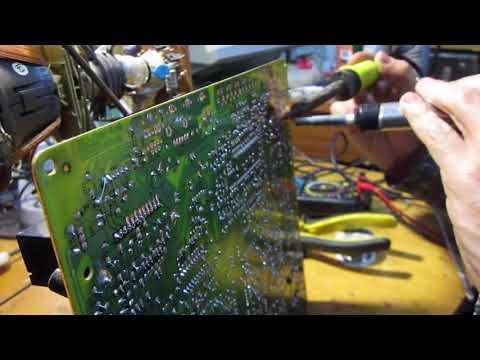 Ремонт телевизора ORION mp2123u после грозы