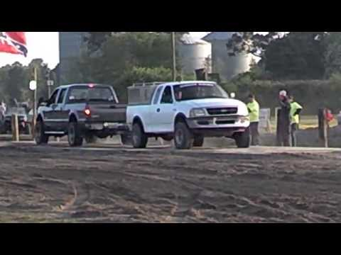 F250 6.0 Power Stroke Diesel Vs F150 Gas Surprising Match