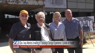 Governor Ivey Gives Health Update at Talladega