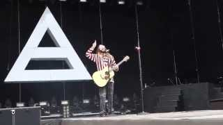 30 SECONDS TO MARS - R-evolve+Hurricane+Attack+Bad Romance - POLAND, RYBNIK 22.06.2014