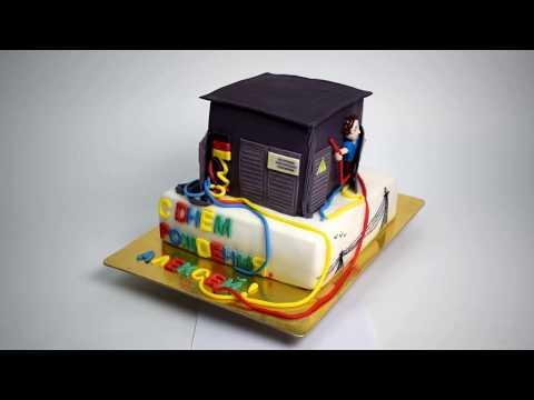 Мастер-класс торта электрику