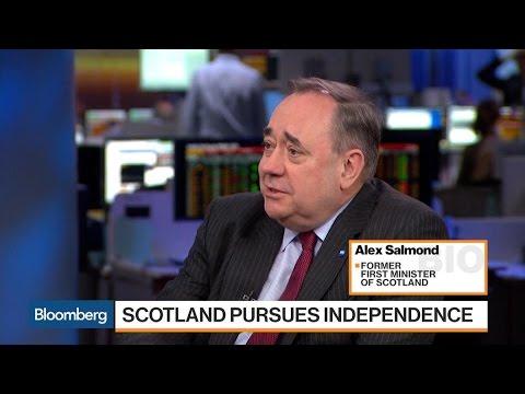 Salmond Says May Has Shown No Sensibility to Scotland