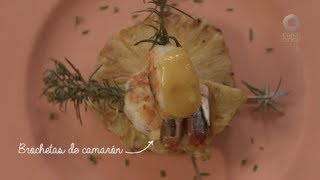 Tu cocina - Brochetas de camarón