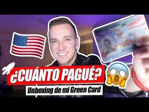 🇺🇸¿Cómo me hice Residente en Estados Unidos? 😱 UNBOXING MI GREEN CARD - Oscar Alejandro