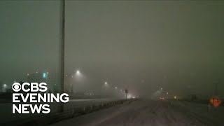 Winter storm brings freezing rain and ice from Midwest to New England
