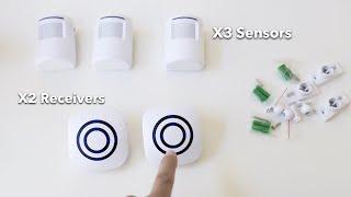 Motion Sensor Alarm - Wireless Driveway Alarm