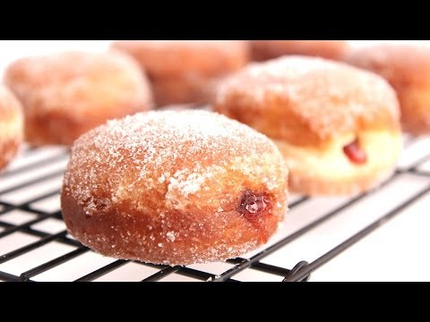 Homemade Jelly Donut Recipe – Laura Vitale – Laura in the Kitchen Episode 787