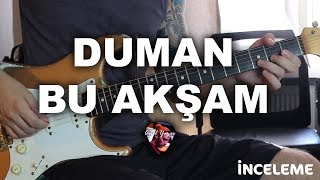 Duman - Bu Akşam (Detaylı Gitar Dersi + Solo)
