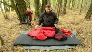 Schlafsack richtig verpacken