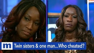 Twin sister & one man... Who cheated? | The Maury Show