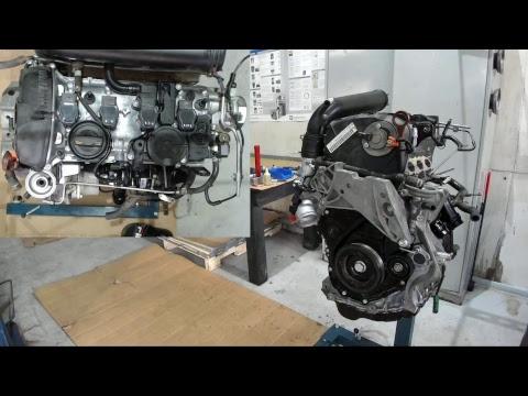 Фото к видео: Капремонт двигателя BZB