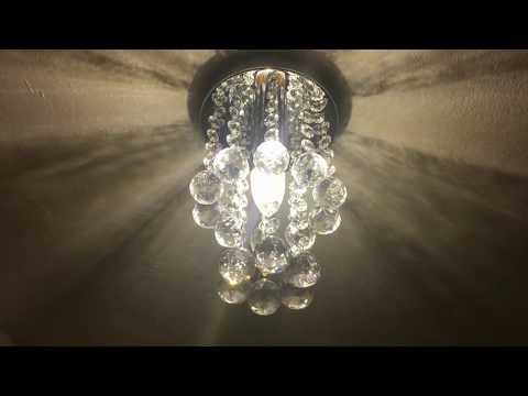 Friedhoffs Produktcheck Folge 3 Egomall 15cm Luxus Decken Kristallleuchter für 24,99