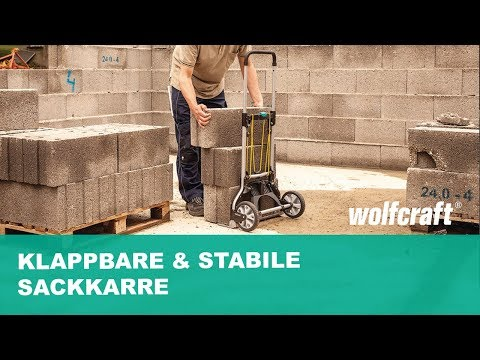 Klappbare & stabile Sackkarre - Ideal für jeden Kofferaum | wolfcraft