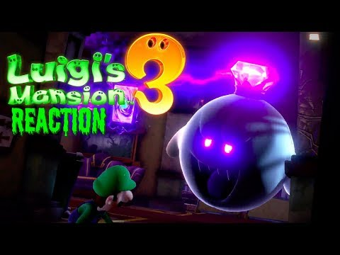 Luigi's Mansion 3 (US Website) REACTION! NEW CUTSCENES! - ZakPak