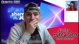 Wiktoria Gabor   Superhero Reaction   Junior Eurovision 2019 (Poland)   Quinto ESC