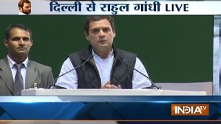 Rahul Gandhi Takes On PM Modi Says Demonetisation Was His Personal Decision