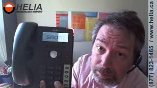 How To Factory Reset a Snom 710 Desk Phone
