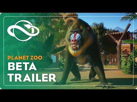 Planet Zoo   Beta Gameplay Trailer