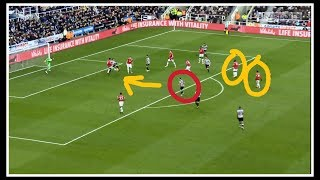 Analysing the goal | Newcastle United 1-0 Manchester United