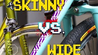 Skinny Vs. Wide Tires For Fixed Gear