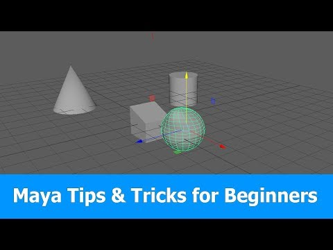Maya Tutorial: Tips & Tricks for Beginners