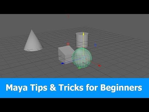 Maya Tutorial: Tips & Tricks for Beginners