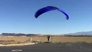 Jake's Third Paramotor Takeoff and Landing