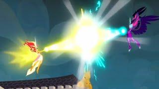 Daydream Shimmer vs. Midnight Sparkle|| MLP: EG- Friendship Games