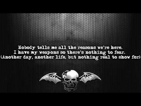 Avenged Sevenfold - M.I.A. [Lyrics On Screen] [Full HD]