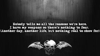 Avenged Sevenfold - M.I.A. [Lyrics on screen] [Full HD]