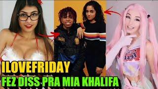 ILOVEFRIDAY, O CASAL Que Fez Uma DISS Pra MIA KHALIFA!!   ILOVEFRIDAY Biografia #4