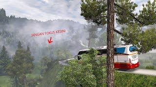 Jalan Jalan Ke MALIOBORO Pulangnya Mampir PANTAI SELATAN : ETS2 MOD BUS INDONESIA