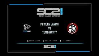 [SC2ITL S6] PSISTORM Gaming vs Team Gravity