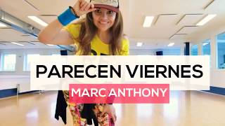 PARECEN VIERNES Marc Anthony SALSA   Choreo Karla Borge   Zumba