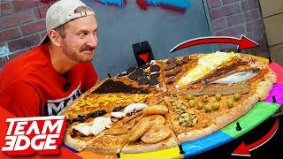Disgusting Pizza Slice Roulette Challenge!!