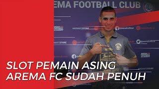 Slot Pemain Asing Arema FC Penuh seusai Datangnya Jonathan Bauman, Elias Alderete, & Matias Malvino