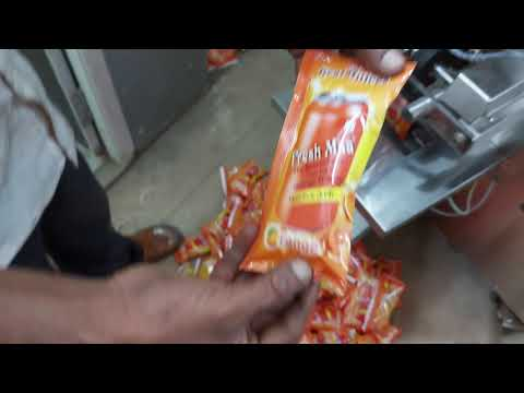Juice Pouch Packing Machine In Laminated Pouch