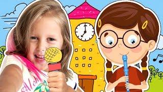 ШКОЛА МЕЧТЫ! Урок Мультикознания, музыки и Математика с Конфетами! Сон или реальность? Kids Video