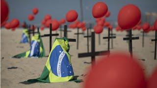 Brazils Coronavirus Death Toll Surpasses 100,000