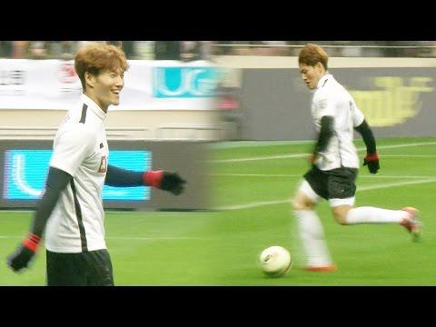 《FUNNY》 Running Man 런닝맨 김종국, '평생 하체 운동' 무색하게 하는 몸 개그 작렬! EP415 20160124 (видео)