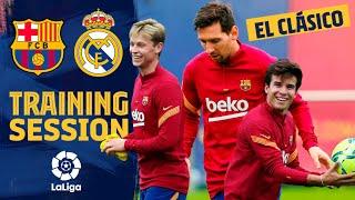 ⚽ ? Preparation & goals ahead of EL CLÁSICO