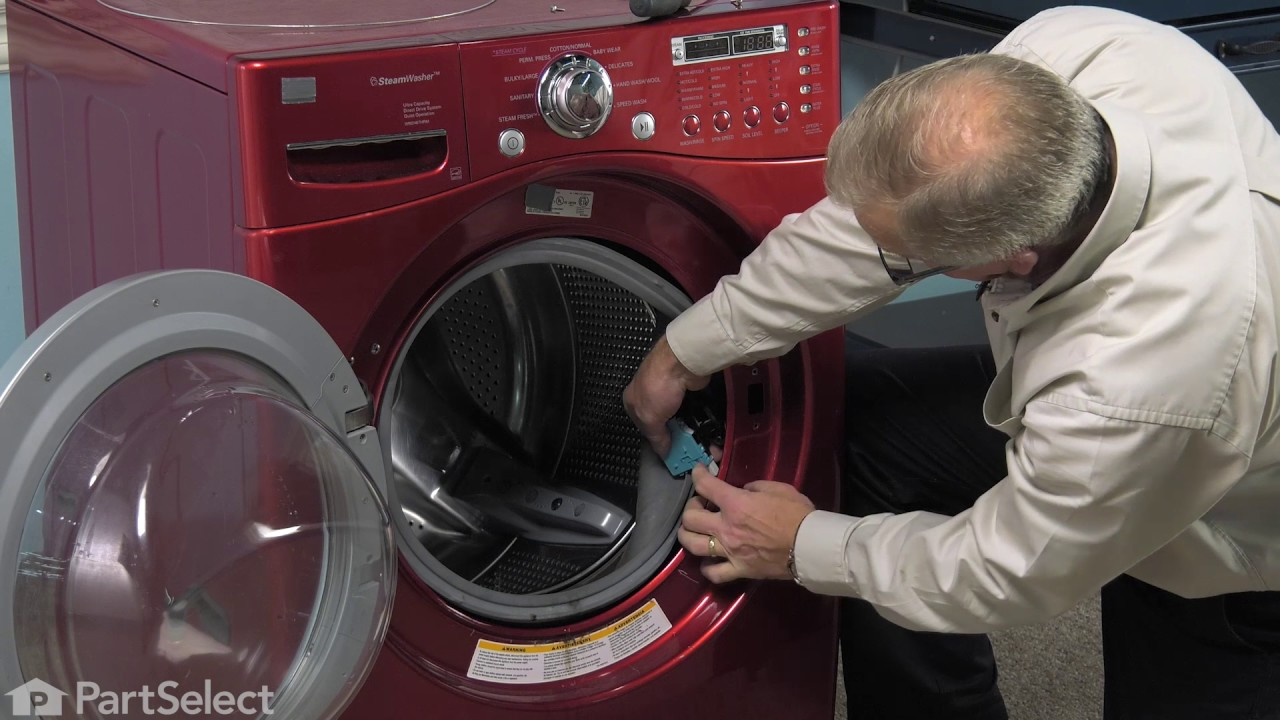 Replacing your LG Washer Door Lock Assembly