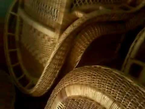 sillas en mimbre