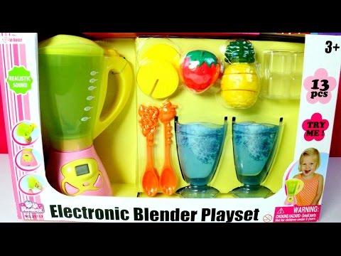 Licuadora Electronica  Play Set  Electronic Blender Playset MundodeJuguetes